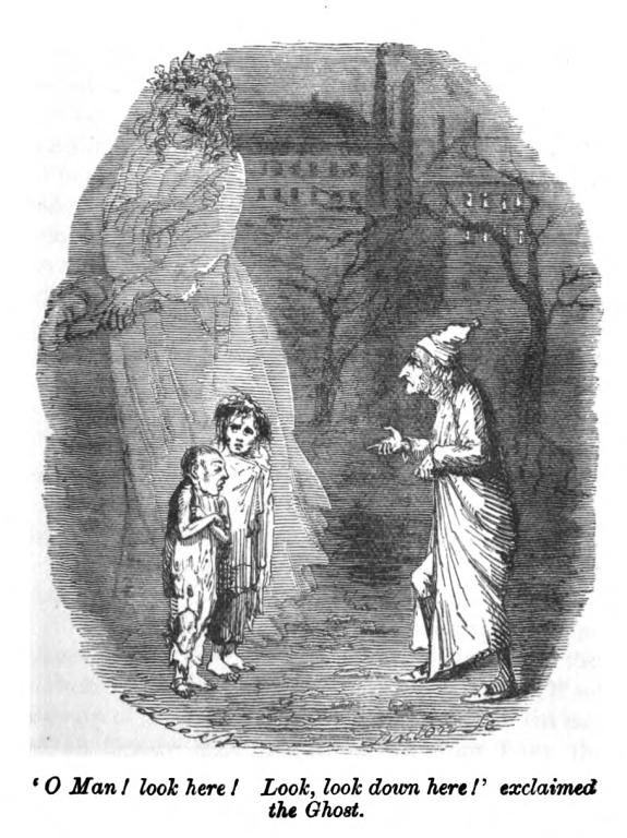 a christmas carol poverty Dickens was a political writer, and a christmas carol is a political story   appalled by the poverty he saw that he felt the need to use his work,.
